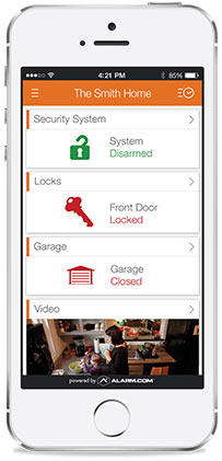 Lock Or Unlock Your Doors And Control The Garage Door From Anywhere With  Our Mobile App.